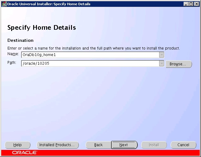 Install Oracle 10g on Power Linux